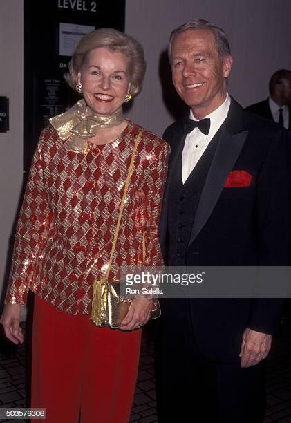 Pete Wilson and wife Gayle Wilson attend American Cinema Awards Honoring Richard Dreyfuss on November 2 1996 at the Westin Bonaventure Hotel in Los...