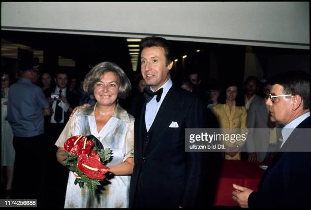 Peter Alexander mit Ehefrau Hilde 1979