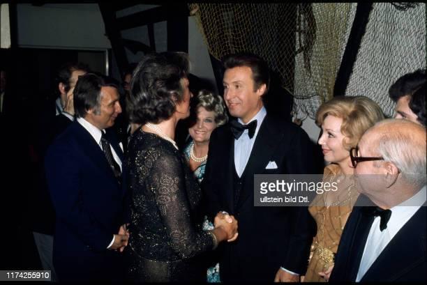 Peter Alexander mit Mildred Scheel Anneliese Rothenberger 1979