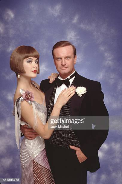 Peter Allen and Colleen Dunn in the Broadway Musical 'Legs Diamond' in September 1988