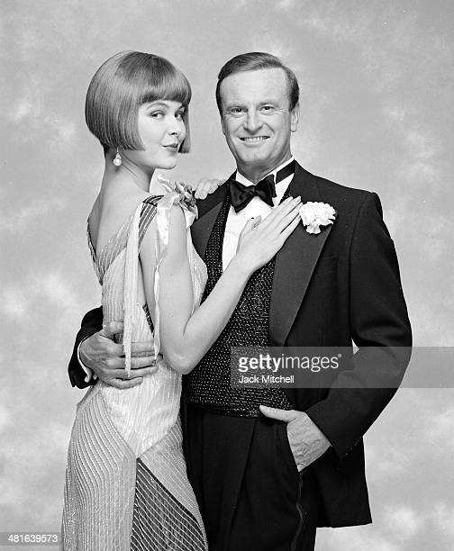 Peter Allen and Colleen Dunn in the Broadway Musical 'Legs Diamond' in July 1988