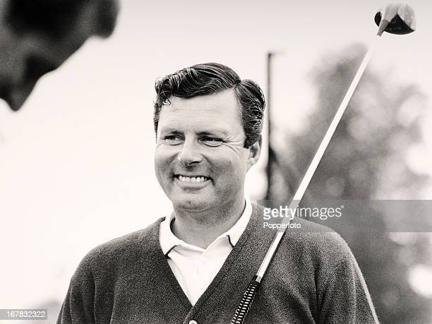 Peter Alliss of Great Britain during the Agfacolor Golf Tournament played at Stoke Poges golf course circa 1968