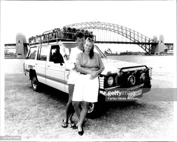 Peter amp Annie Dixon Travelled London To Sydney In A 4WD January 5 1990