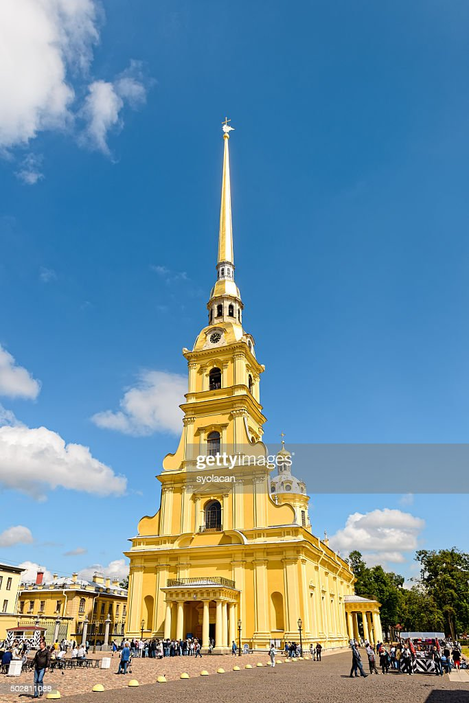 Peter and Paul Cathedral, Saint Petersburg, Russia : Stock Photo