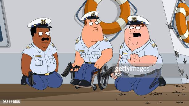 Peter and the guys are sentenced to join the US Coast Guard in the Veteran Guy episode of FAMILY GUY airing Sunday Apr 1 on FOX