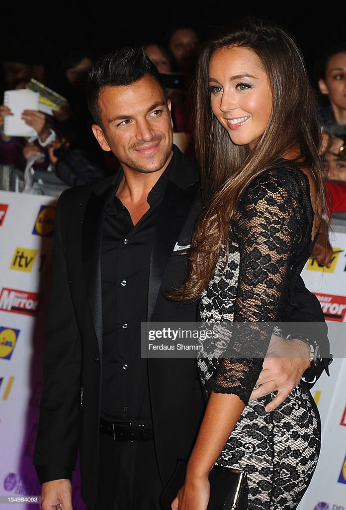 Peter Andre And Emily Macdonagh Attend The Pride Of Britain Awards At Grosvenor House On