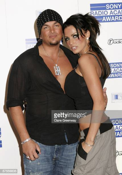 Peter Andre and Katie Price, aka Jordan, arrive at the Sony Radio Academy Awards 2006 at Grosvenor House Hotel on May 8, 2006 in London, England.