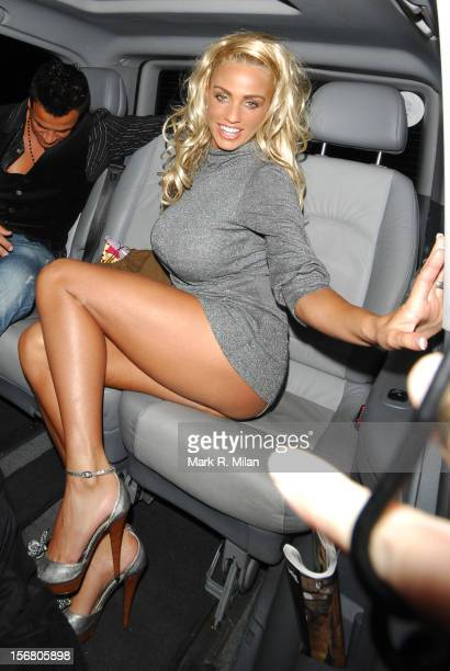 Peter Andre and Katie Price are seen on September 20, 2007 in London, England.