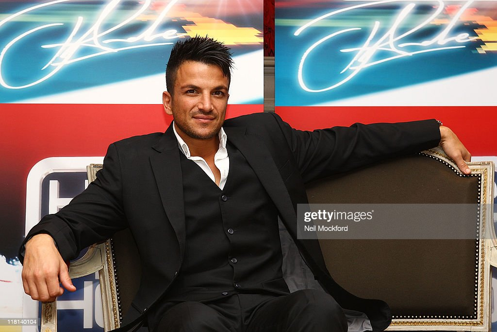 Peter Andre: Here 2 Help : News Photo