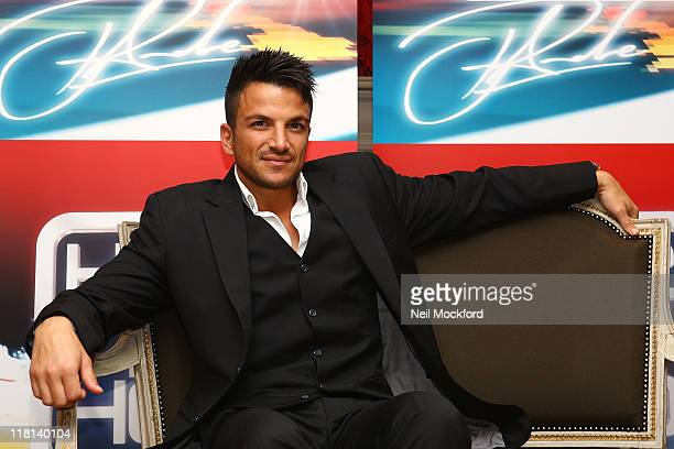 Peter Andre attends a photocall for Here 2 Help at Charlotte Street Hotel on July 4 2011 in London England