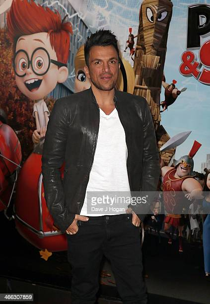 Mr peabody sherman 3d vip gala screening stock photos and pictures peter andre attends a vip gala screening of mr peabody sherman 3d at vue m4hsunfo