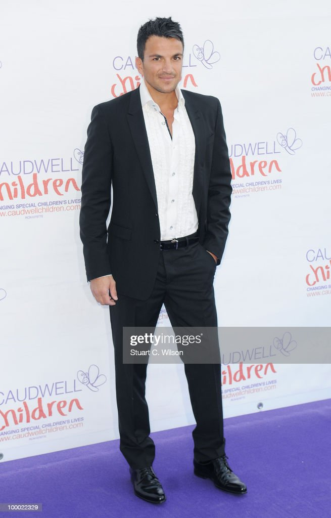 Peter Andre attends The Caudwell Children Butterfly Ball at Battersea Evolution on May 20, 2010 in London, England.