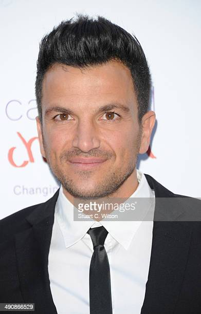 Peter Andre attends the Caudwell Children Butterfly Ball at The Grosvenor House Hotel on May 15 2014 in London England
