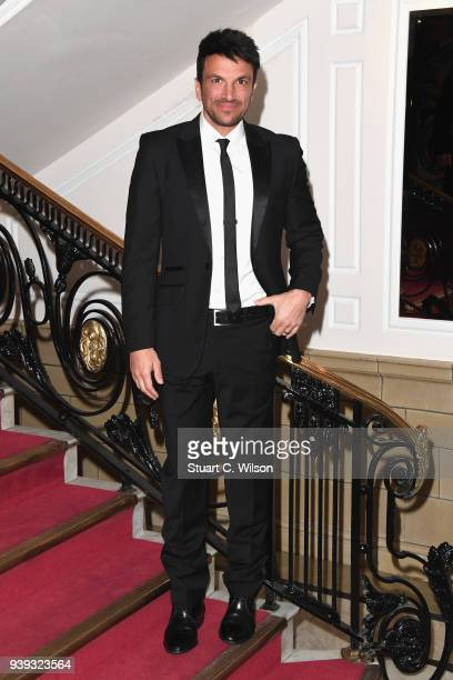 Peter Andre attends the National Film Awards UK at Porchester Hall on March 28 2018 in London England