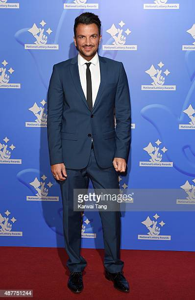 Peter Andre attends the National Lottery Awards at The London Television Centre on September 11 2015 in London England