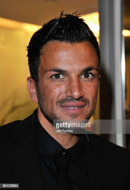Peter Andre attends the TV Quick TV Choice Awards at The Dorchester on September 7 2009 in London England