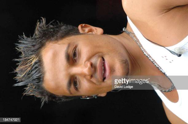 Peter Andre during 2004 Big Gay Out Show at Finsbury Park in London Great Britain