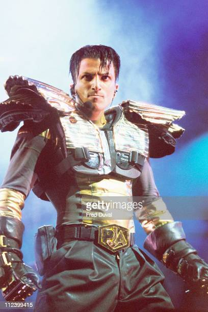Peter Andre during Peter Andre Concert March 1 1997 at Royal Albert Hall in London Great Britain