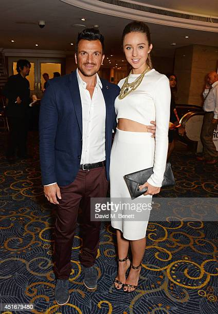 Peter Andre Emily Macdonagh attends the Nordoff Robbins 02 Silver Clef awards at the London Hilton on July 4 2014 in London England