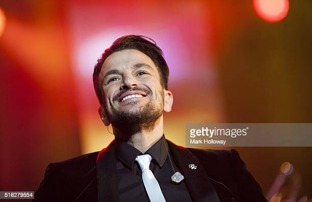 Peter Andre performs at BIC on March 17 2016 in Bournemouth England