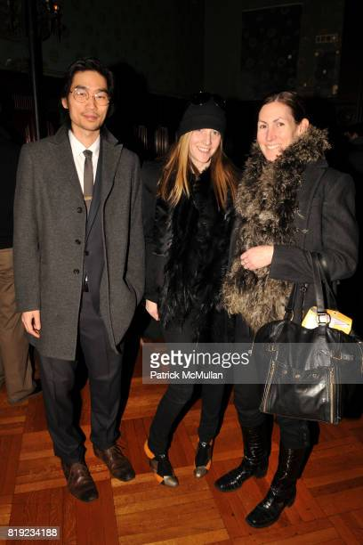 Peter Ash Lee Wendy Schecter and Alix Browne attend THOM BROWNE Fall 2010 Collection at Park Avenue Armory on February 15 2010 in New York City