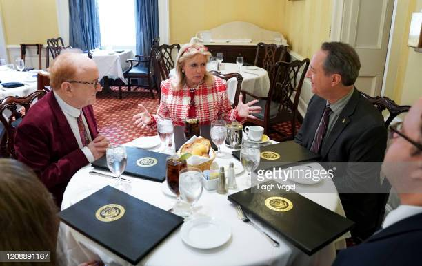 Peter Asher, Representative Debbie Dingell , and Daryl Friedman, Chief Industry, Government & Member Relations Officer meet on Capitol Hill on...