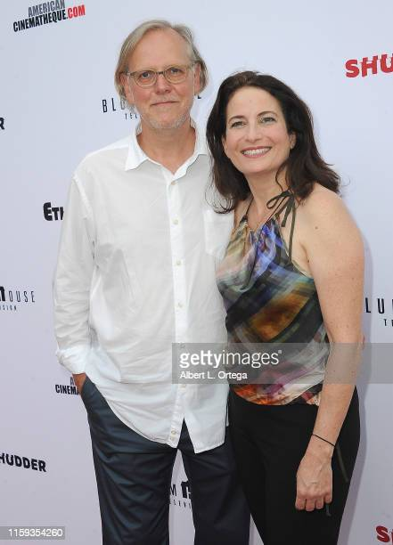 Peter Baran and Laura Belsey attend the 6th Annual Etheria Film Showcase held at American Cinematheque's Egyptian Theatre on June 29 2019 in...