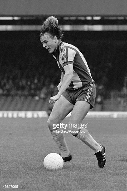 Peter Barnes in action for West Bromwich Albion during the 1st Division match between Bolton Wanderers and West Bromwich Albion at Burnden Park in...