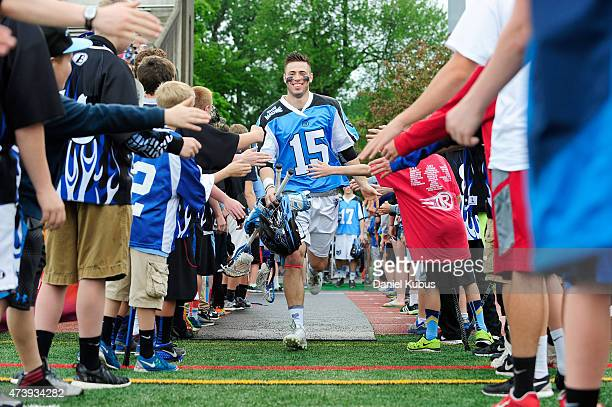 Peter Baum of the Ohio Machine takes the field at Selby Stadium on May 16 2015 in Delaware Ohio