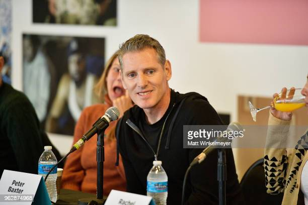 Peter Baxter speaks onstage during the 2018 Mammoth Lakes Film Festival on May 26 2018 in Mammoth Lakes California