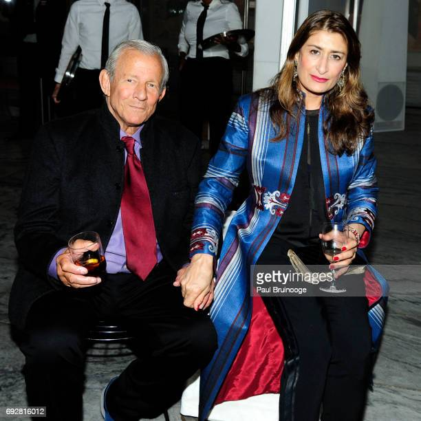 Peter Beard and Nejma Beard attend MoMA's 2017 Party in the Garden at The Museum of Modern Art on June 5 2017 in New York City
