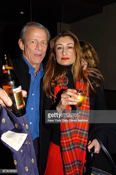 Peter Beard and wife Nejma are on hand for a special screening of The Sea Inside at the Tribeca Grand Hotel on Ave of the Americas