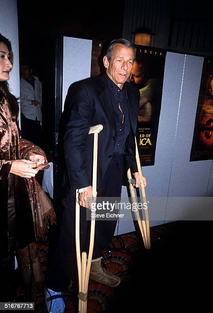 Peter Beard at the I Dreamed of Africa premiere at Lincoln Square Theatres New York April 18 2000