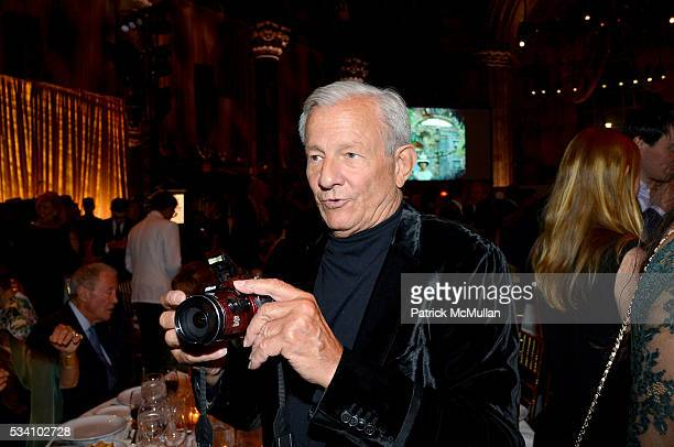 Peter Beard attends The Gordon Parks Foundation 10th Anniversary Awards Dinner and Auction at Cipriani 42nd Street on May 24 2016 in New York City
