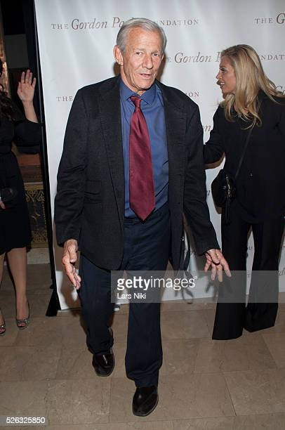 Peter Beard attends the Gordon Parks Foundation Awards Dinner at the Plaza Hotel in New York City �� LAN