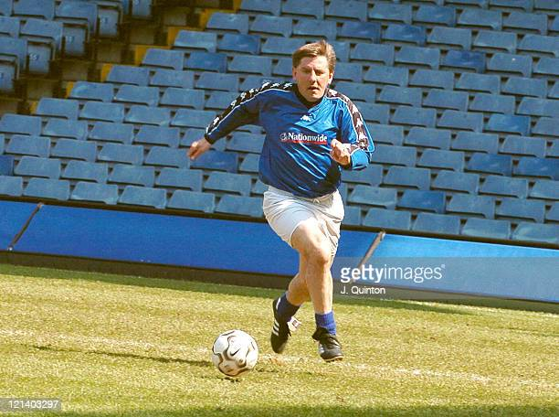 Peter Beardsley during The Cystic Fibrosis Trust Challenge Trophy at Stamford Bridge in London Great Britain