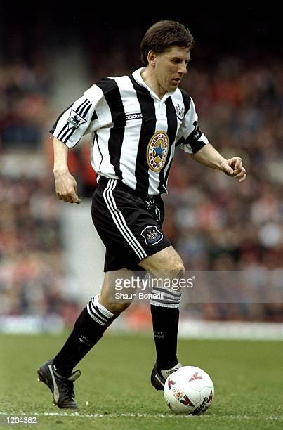 Peter Beardsley of Newcastle United in action during a match Mandatory Credit Shaun Botterill/Allsport