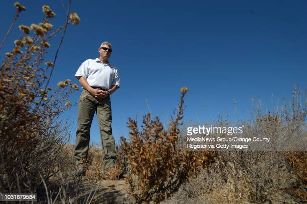 Peter Beck biologist with the US Fish and Wildlife Service on a bluff just north of the San Onofre Nuclear Power Plant Beck helped develop the...