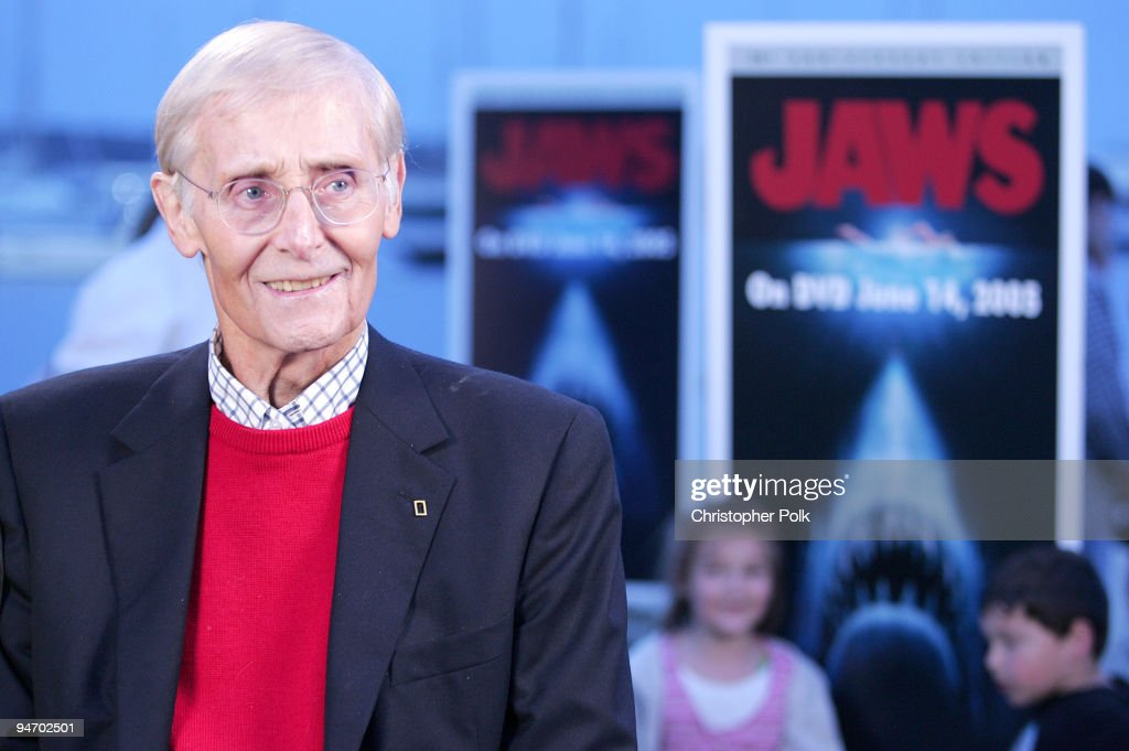 Peter Benchley, author of the novel 'Jaws'. The 'Jaws' 30th Anniversary Edition DVD from Universal Studios Home Entertainment releases June 14th. The DVD includes a special never-before-seen Steven Spielberg interview and a 2-hour documentary on the making of the film.