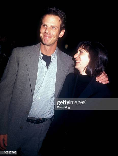 """Peter Berg and guest during """"The Crucible"""" Los Angeles Premiere at AMPAS Goldwyn Theater in Beverly Hills, California, United States."""