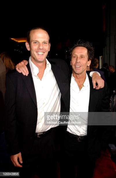 """Peter Berg, director and Brian Grazer, producer during """"Friday Night Lights"""" Los Angeles Premiere - Red Carpet at Grauman's Chinese Theatre in Los..."""