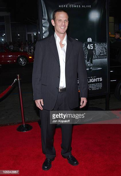 """Peter Berg, director during """"Friday Night Lights"""" - World Premiere at Grauman's Chinese Theatre in Hollywood, California, United States."""