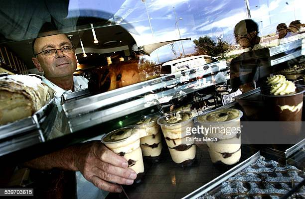 Peter Berger Manager of the Gelato Bar at Bondi Beach 19 December 2005 AFR Picture by ROB HOMER