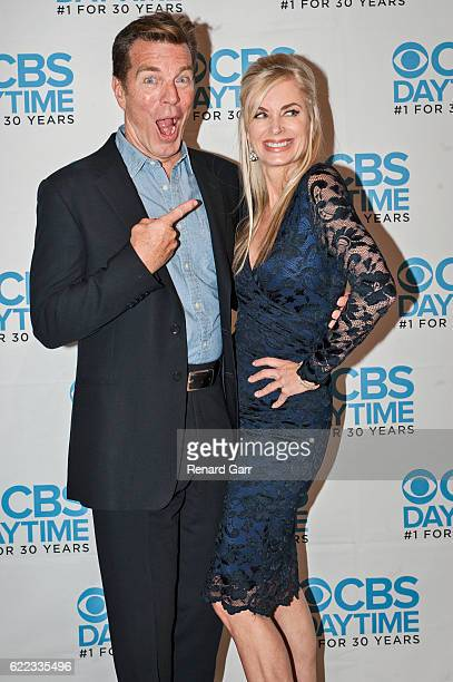 Peter Bergman and Eileen Davidson attends 'The Young And The Restless' Live Script Read And Panel at The Paley Center for Media on November 10 2016...