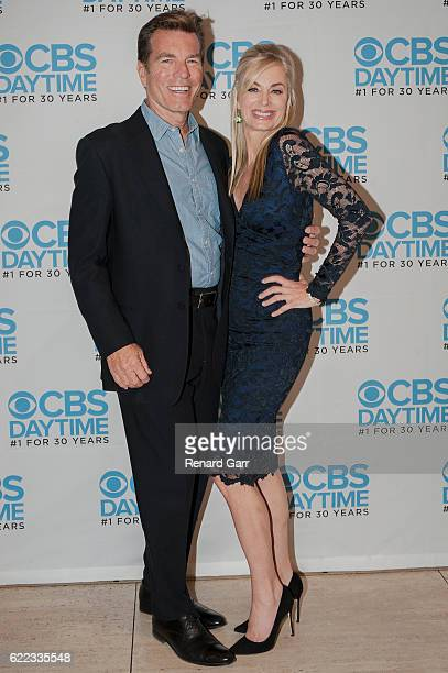 Peter Bergman and Eileen Davidson attends The Young And The Restless Live Script Read And Panel at The Paley Center for Media on November 10 2016 in...
