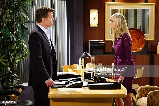 Peter Bergman and Eileen Davidson on The Young and the Restless THE YOUNG THE YOUNG AND THE RESTLESS Airs Weekdays on the CBS Television Network