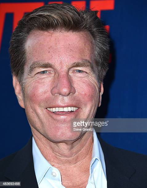 Peter Bergman arrives at the CBS CW And Showtime 2015 Summer TCA Party at Pacific Design Center on August 10 2015 in West Hollywood California