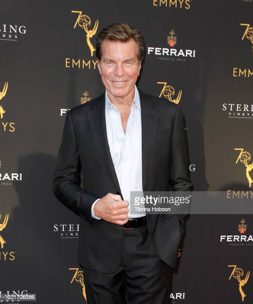 Peter Bergman attends the Television Academy's Daytime Programming Peer Group Reception at Saban Media Center on August 22 2018 in North Hollywood...