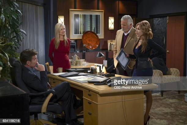 Peter Bergman Eileen Davidson John McCook and Tracey Bregman on The Young and the Restless THE YOUNG THE YOUNG AND THE RESTLESS Airs Weekdays on the...