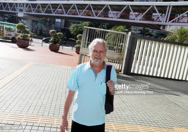 Peter Bernhard Amstutz accused of indecently assaulting a flight attendant appears at Tsuen Wan Court 18AUG15